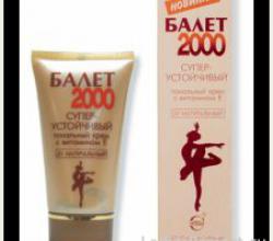 Суперустойчивый тональный крем «Балет 2000» (тон натуральный) от Свободы