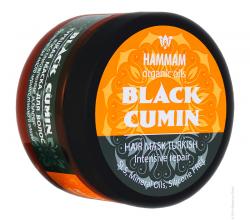 """Турецкая маска для волос """"Black Cumin Восстановление и блеск"""" из серии """"Hammam organic oils"""" от Natura Vita"""