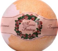 """Ароматическая бомба для ванны """"Роза"""" от Aroma Fantasy"""
