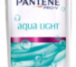 Шампунь и бальзам Pantene Pro-V Aqua Light для для тонких или склонных к жирности волос от Pantene