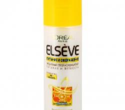Ежедневный спрей-кондиционер Питание и легкость Elseve от L'Oreal