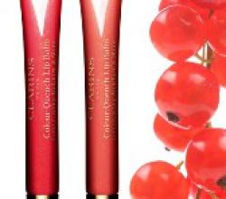 Увлажняющий блеск-бальзам для губ Couleur Levres (оттенок № 04 Raspberry smoothie) от Clarins