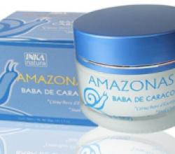 Крем-гель для лица из амазонских улиток от INKA natura