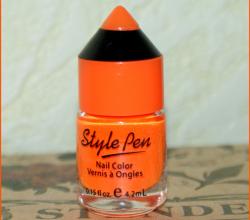 Лак для ногтей (оттенок № 113 Orange Sunset) от Style Pen