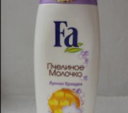 """Гель для душа и мыло """"Пчелиное молочко и лунная орхидея"""" от Fa"""