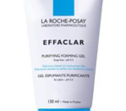 Очищающий пенящийся гель Effaklar от  La Roche Posay
