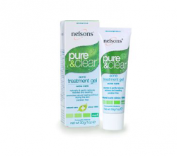 Гель против угревой сыпи Pure & Clear, Acne Treatment Gel от Nelsons