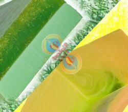 """Ароматическое мыло ручной работы """"Зеленая трава"""" и """"Спелая дыня"""" от Valent Vota"""