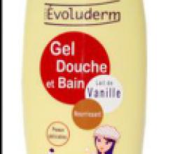 Гель для душа Lait de Vanille (с ванильным молочком) от Evoluderm