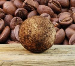"Бурлящий шар для ванны ""Кофе"" от Stenders"
