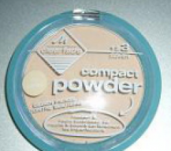 Очищающая пудра для лица Clearface Compact Powder от Manhattan