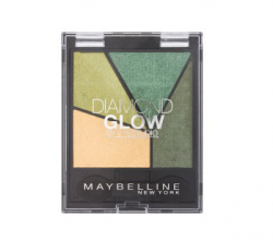 Тени для век Diamond Glow by Eye Studio (оттенок № 5 Forest Drama) от Maybelline