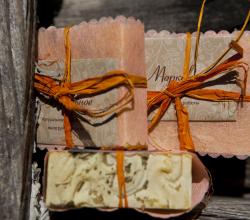"""Органическое мыло """"Морковное"""" от Краснополянское мыло"""