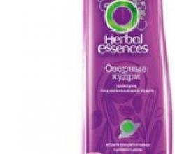 """Шампунь """"Озорные кудри"""" от Herbal Essences"""