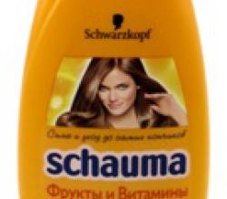 """Шампунь Schauma """"Фрукты и Витамины"""" для всех типов волос от Schwarzkopf"""