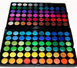 Профессиональная палитра (палетка) теней 120 цветов от Beauties Factory