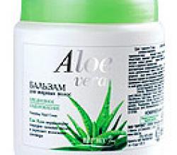 """Бальзам для жирных волос """"Aloe vera"""" от Витекс"""