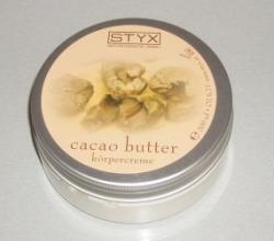 "Крем для тела ""Масло какао"" от Styx"