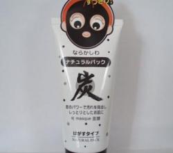 Угольная маска для лица от черных точек от Daiso