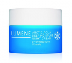 Интенсивный увлажняющий ночной крем Arctic Aqua от Lumene