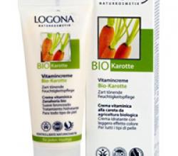 """Крем витаминный для всех типов кожи """"Био Морковь"""" от Logona"""