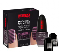 Лак для ногтей Magnetic Nail Art Kit от Pupa