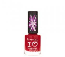 Лак для ногтей I ♥ Lasting Finish  (оттенок № 030 Double Decer Red) от Rimmel