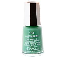 Лак для ногтей (оттенок № 154 Aquamarine) от Mavala