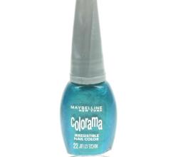 Лак для ногтей Colorama (оттенок № 22 Морская глазурь) от Maybelline
