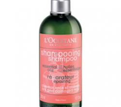 Восстанавливающий шампунь и кондиционер для сухих, поврежденных волос от L'Occitane