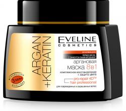 Аргановая маска для волос 8 в 1 от Eveline Сosmetics