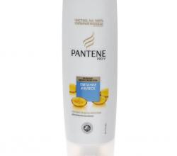"""Бальзам-ополаскиватель для нормальных волос """"Питание и Блеск"""" от Pantene Pro-V"""