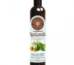 """Гель для душа """"Освежающий"""" с маслом жожоба и мятой от Compliment Naturalis"""