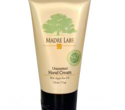 Неароматизированный крем для рук с аргановым маслом от Madre Labs