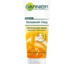 Питательная маска для лица «Основной уход» от Garnier