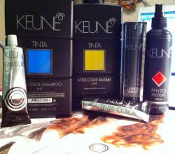 Биоламинирование косметикой KEUNE