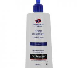"""Молочко для тела """"Глубокое увлажнение"""" для сухой  кожи от Neutrogena"""