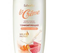 Тонизирующий крем-гель для душа La Creme от Faberlic