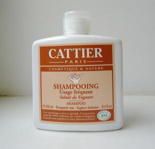 Шампунь для частого использования с йогуртом от Cattier