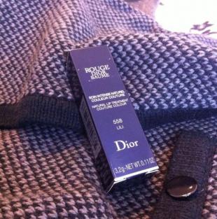 Помада-бальзам Rouge Dior Baume (оттенок № 558 Lili) от Dior