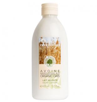 Бархатистое молочко для тела Овес БИО от Yves Rocher