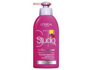 Крем для волос Хот Лисс Studio терморазглаживающий от L'oreal