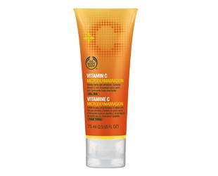 Крем-пилинг для лица Vitamin C от The Body Shop