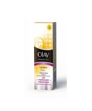 Дневная эмульсия для лица спектрального действия Сomplete Сияние кожи SPF15 от Olay