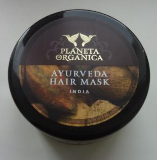 Густая золотая аюрведическая маска для густоты и роста волос от Planeta Organica