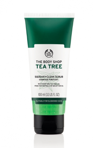 """Скраб для лица """"Чайное дерево"""" от The Body Shop"""