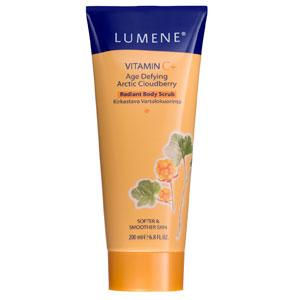 Обновляющий скраб для тела Vitamin C+ от Lumene