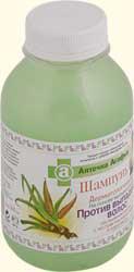 Дерматологический шампунь на основе мыльного корня против выпадения волос от Рецепты бабушки Агафьи