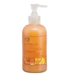 Молочко для тела Satsuma Puree Body Lotion от The Body Shop