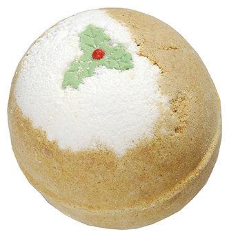 """Бомба для ванны """"Рождественский пудинг"""" от Lush"""